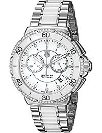 TAG Heuer Damen-Armbanduhr Chronograph Quarz Edelstahl CAH1213.BA0863