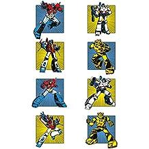 Transformers G1Retro Comic lienzo de cuadrados, multicolor, 60x 80cm