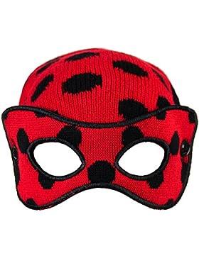 Cerdá Lady Bug, Set de Bufanda, Gorro y Guantes para Niños, Marrón (Rojo 001), One Size (Tamaño del Fabricante...