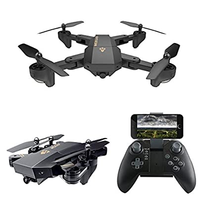 Fanxing Quadcopter 2.4G 4-Channel 6-Axis Altitude Hold HD Camera RC Quadcopter Drone Selfie Foldable