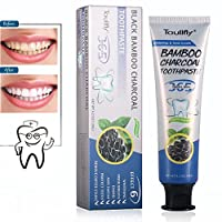 Activated Charcoal Teeth Whitening,Natural Bamboo Charcoal Toothpaste,Effective Against Bad Breath and Coffee stains,Mint Flavor,Improves Oral Health and Freshens  Breath 120g