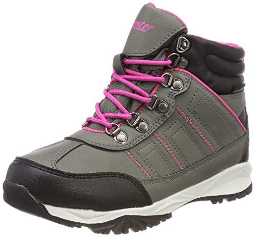 Latupo GmbH - Shoes Limes, Scarpe da Arrampicata Alta Unisex-Bambini, Grigio (Grau/Pink), 30 EU