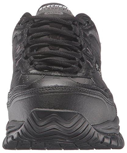 Skechers per Lavoro 77013Morbida Stride Grinnel Antiscivolo in Acciaio Toe Scarpe da Lavoro Black