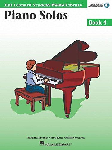 Piano Solos Book 4 Piano +CD (Hal Leonard Student Piano Library (Songbooks))