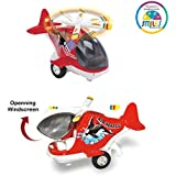 Smiles Creation Air Whale Light Helicopter Die-Cast Metal