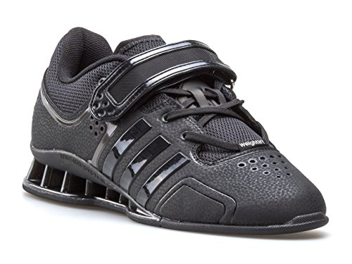 adidas Adipower Weightlifting, Scarpe da Fitness Unisex – Adulto Schwarz (Core Black/Night Met. F13/Silver Met. 001)
