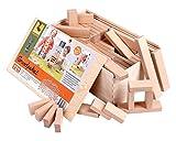 CreaBLOCKS Holzbausteine Grundpaket (156 unbehandelte Bauklötze)