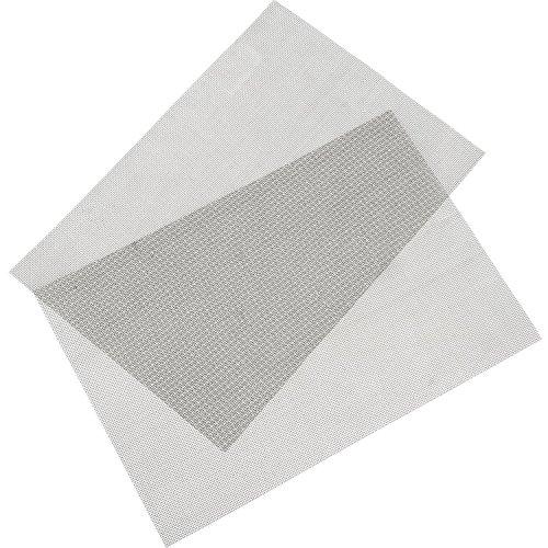 Wire Mesh Woven Meshes Edelstahl Fliegengitter Nagetier Mesh mit 1 mm Mesh, 300 x 210 mm, 2 Stück (Gaze)