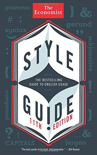 Style Guide (Economist Books) por The Economist