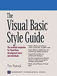[(The Visual Basic Style Guide)] [By (author) Tim Patrick] published on (May, 2000)