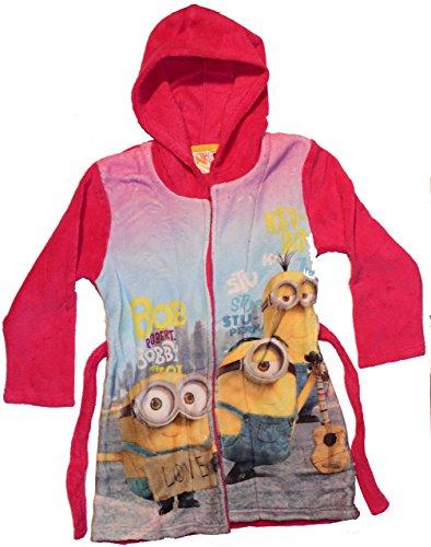 Universal Pictures Minions Love, Vestaglia Bambina, Rosa, 8 Anni