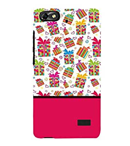 Fabcase prizes gifts surprises joyfull love theme pink Designer Back Case Cover for Huawei Honor 4C