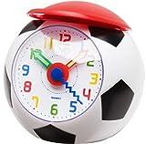 Analoger Kinder Wecker Fußball