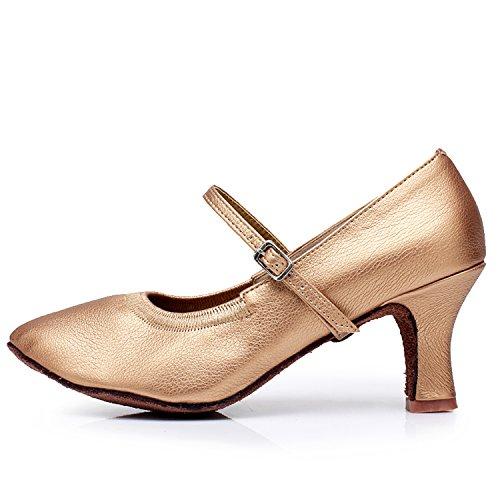 Alto Salto De Sapatos Sapatos Dança Oasap Negra Valsa Moda Das De Mulheres xTtAwqwE