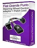 Connects2 Autoradio-Adapter für Lenkrad, Fiat Grande Punto, Autoradio-Adapter, für Lenkstockhebel