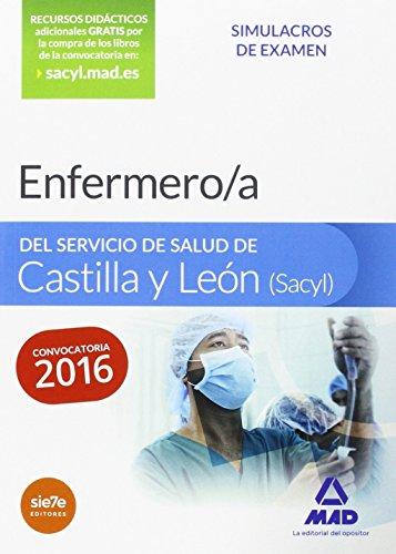 Enfermero/a del Servicio de Salud de Castilla y León (SACYL). Simulacros de examen