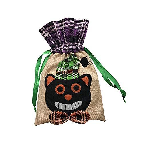 LAAT Halloween Süßigkeitstasche Verpackung Geschenk Kordelzug Kind Party Zubehör (Colour 2)