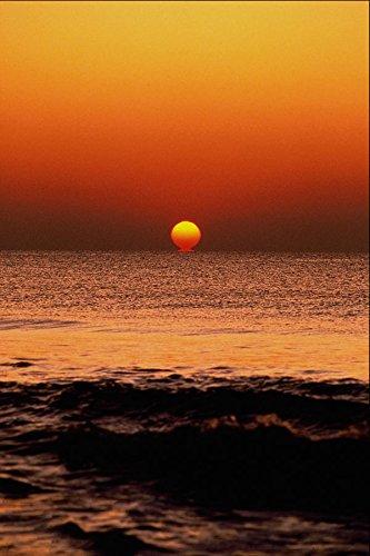 647043 Sunrise Long Beach Island New Jersey A4 Photo Poster Print 10x8 - Long Beach Island, New Jersey