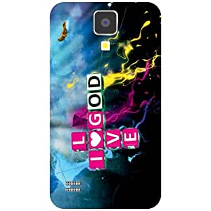 Samsung Galaxy S4 Phone Cover - Love God Matte Finish Phone Cover