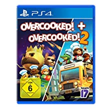 OVERCOOKED + OVERCOOKED! 2 Double Pack (PlayStation PS4)