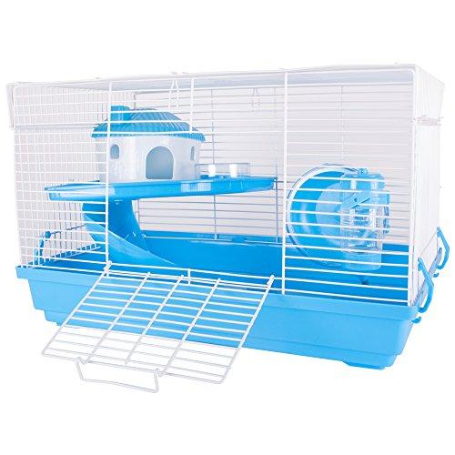 ZD Haustiere Happy Hamster Blue Activity Cage