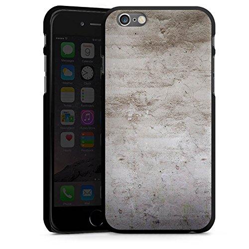 Apple iPhone 4 Housse Étui Silicone Coque Protection Pierre Structure Mur CasDur noir