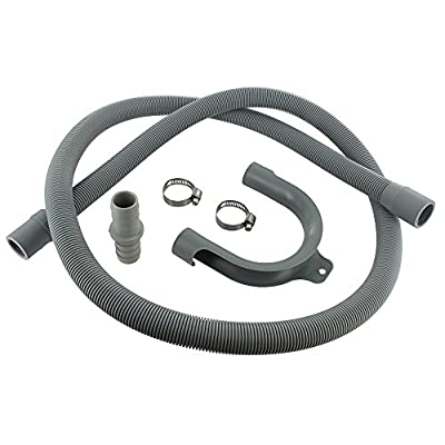 Europart Universal Drain Hose Extension Kit with 18 x 22 mm Fitting, 1.5 m