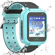 Reloj Inteligente a Prueba de Agua GPS Tracker para niños - Mire el Reloj Inteligente a