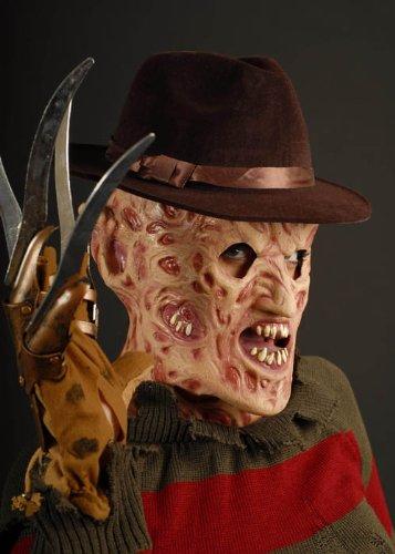 Freddy Hut Krüger (Erwachsene Freddy Krueger Brown)