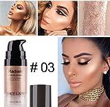 SACE LADY iluminador maquillaje resaltador crema cara brillante profesional maquillaje líquido Glow Kit belleza marca cosmético