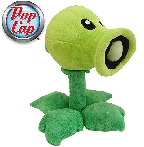 Plants vs Zombies - Peashooter plush toy figure 15cm - original & licensed