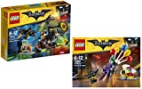 The LEGO Batman Movie 70913 - Kräftemessen mit Scarecrow + The LEGO Batman Movie 70900 - Jokers Flucht mit den Ballons