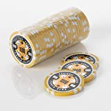 15G Poker Chips - Design - Squirrel Poker Poker Club 15G Poker Chips Colour = Yellow, Value = $1000 by Squirrel Poker