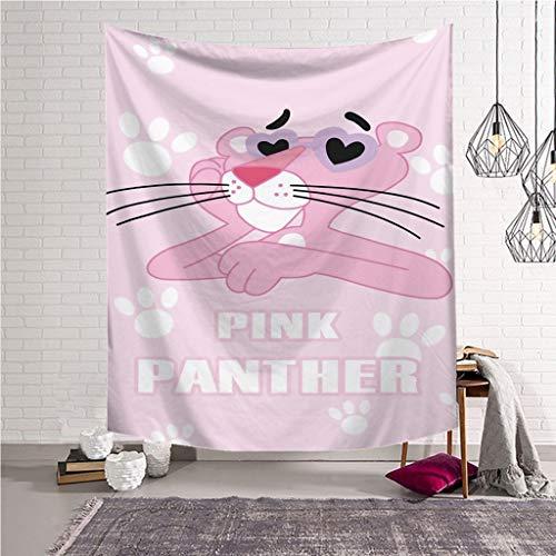 XHcloth Camera da Letto con arazzo Pink Leopard Tapestry Wall Hanging 3D Visual Anime Art Beach Lancio Coperta Camera da Letto Soggiorno Decor (Colore : F, Dimensioni : 203x150)