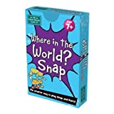 Image for board game The Green Board Game Co. G0944035 Where in the World Snap Card Game