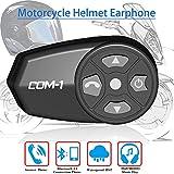 AMQ Casque de Moto écouteurs Casque Bluetooth 4.1 pour Casque de Moto Mains D'équitation