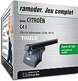 Rameder Pack Barres de Toit SquareBar pour CITROËN C4 I (116059-05221-2-FR)