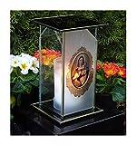 """'Design Grab lampada """"Santa Maria incl.Tomba candela 22,0cm ♥ Gioielli Grab luce tomba a forma di cuore Cimitero Tomba"""
