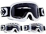 Armor · AG-49 'White' (white) · Cross Enfant · Moto Windproof Ski MX Lunettes de...