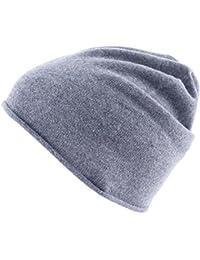 Really Nice Cashmere Curl Solid inverno berretto in maglia Unisex 100% Eco  lana cashmere cappello 4572e8e358a4