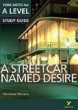 A Streetcar Named Desire: York Notes for A-Level (York Notes Advanced)