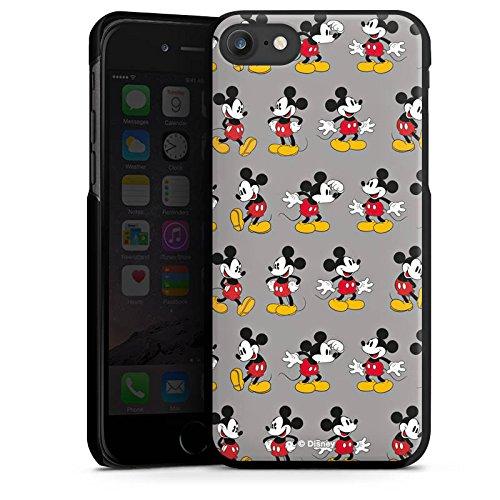 Apple iPhone 7 Silikon Hülle Case Schutzhülle Disney Mickey Mouse Merchandise Geschenk Hard Case schwarz