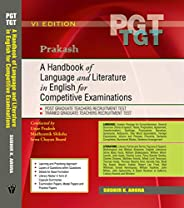 A Handbook of Language and Literature in English for Competitive Examinations