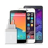 Anker 24W 2-Port USB Ladegerät mit PowerIQ Technologie für Apple iPhone 6 / 6 Plus, iPad Air 2 / mini 3, Samsung Galaxy S6 / S6 Edge, Nexus, HTC M9, Motorola, LG und weitere (Weiß) Bild 3