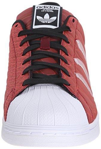Adidas Originals Superstar Chaussures Ctmx, Bourgogne / blanc / noir collégiale, 4,5 M Us Collegiate Burgundy/White/Black