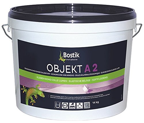 Bostik Objekt A2 PVC Belag Dispersionsklebstoff 22.0kg Eimer