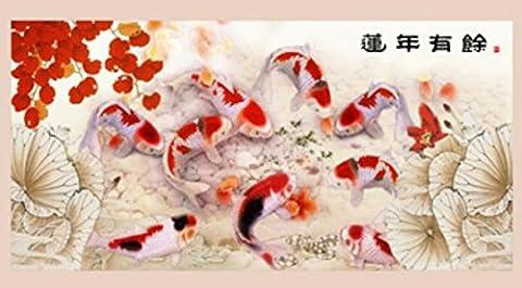 Salon mur canapé décor mural autocollants apposés autocollants mur de verre autocollants auto-adhésifs peinture décorative A , high 50cm* width 100cm