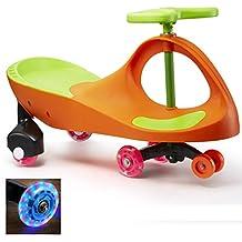 Fascol Vélo et Véhicule pour Enfant 3-8 Ans Plasma Car Ride On Wiggle Car Porteur Lumineux Roues