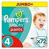 Pampers Baby Dry Pants Größe 4Jumbo Plus Pack 72