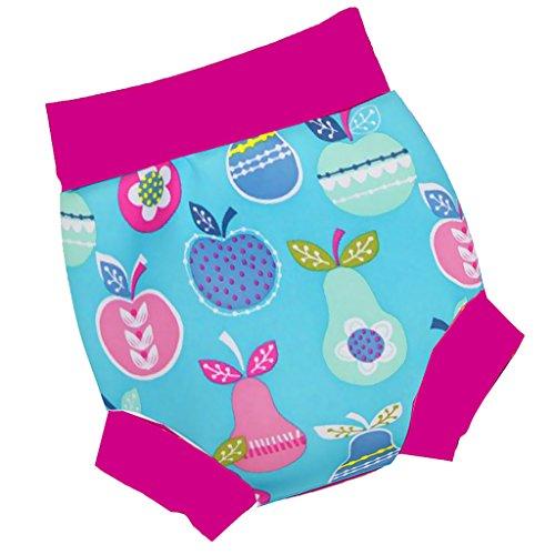 CUTICATE Baby Kleinkind Kinder Wiederverwendbare Hohe Taille Schwimmen Windel Shorts Schwimmen Kostüm - Obst, 24-36M (Schwimmen Kostüm Für Kleinkind)